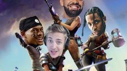 Drake joue en live à Fortnite avec d'autres célébrités, la plateforme Twitch