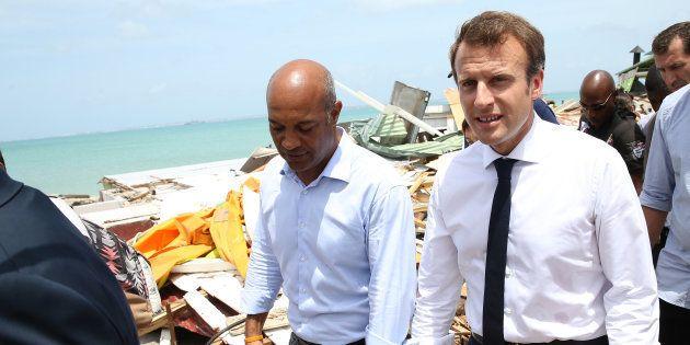 Après Irma, Macron veut faire des Antilles le symbole de son action