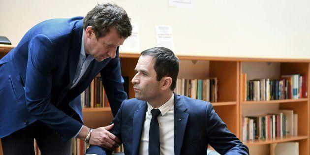 Réunis pour la présidentielle de 2017, Yannick Jadot et Benoît Hamon ne le seront pas pour les européennes...
