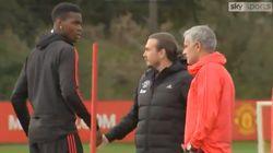 Pogba et Mourinho, ça n'est plus possible et cette vidéo le montre