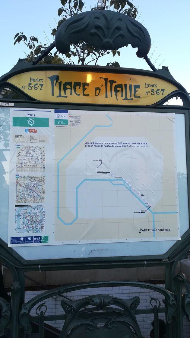 Carte Handicape Italie.Cette Carte Du Metro Parisien Montre A Quel Point Il Est