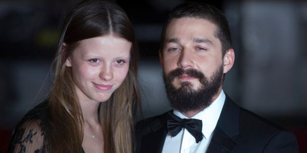 Shia LaBeouf et Mia Goth (ici en octobre 2014 à Londres) divorcent après 2 ans de