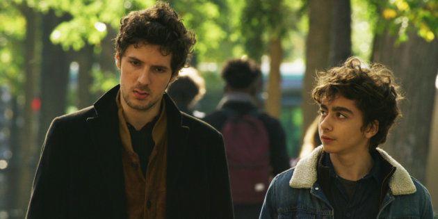 Le très jeune Mathieu Capella, ici à droite de Vincent Lacoste, obtient son premier rôle dans le cinéma
