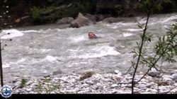 Arnaud Ducret a dû faire le saumon pour traverser une rivière comme Mike