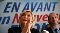 Pour la première fois, Marine Le Pen appelle à voter LR dès le premier