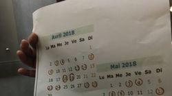 Le calendrier de la grève SNCF de 36