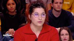 Cette jeune volontaire explique son mot écrit à Macron après sa prise de parole