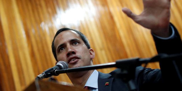 Juan Guaido n'exclut pas une intervention militaire américaine au