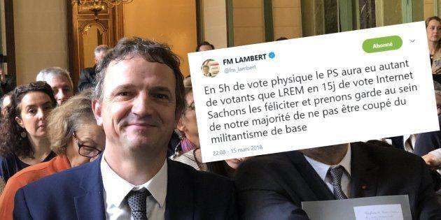 François-Michel Lambert, député LREM, met en garde son parti après la participation au Congrès