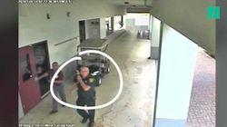 Cette vidéo montre la passivité du policier du lycée de Parkland durant la