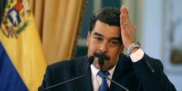 Au Venezuela, un nouveau responsable militaire lâche Maduro (phot d'illustration de Nicolas