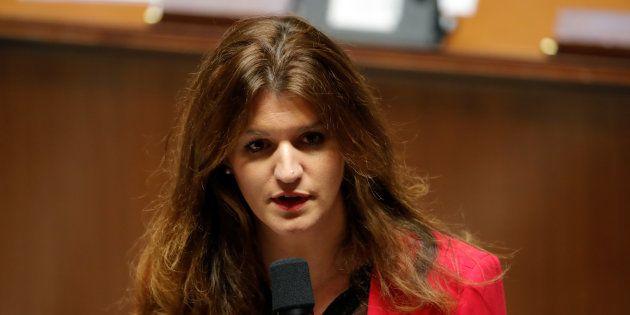 La secrétaire d'Etat Marlène Schiappa a apporté son soutien aux blogueuses et journalistes victimes de