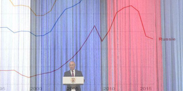 Russie: Derrière l'omniprésence diplomatique de Poutine, l'échec cinglant de sa politique