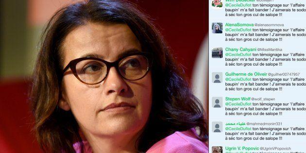 L'ancienne ministre Cécile Duflot a été visée par une campagne d'injures automatisée depuis son témoignage...