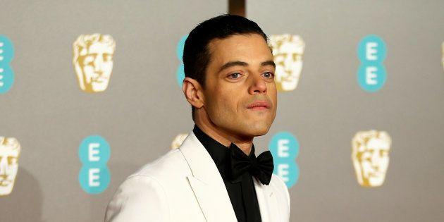 Rami Malek sur le tapis rouge de la British Academy of Film and Television Awards (BAFTA) dimanche 10