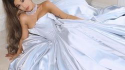 Ariana Grande montre la robe qu'elle devait porter aux