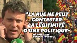 Valls en 2013 :