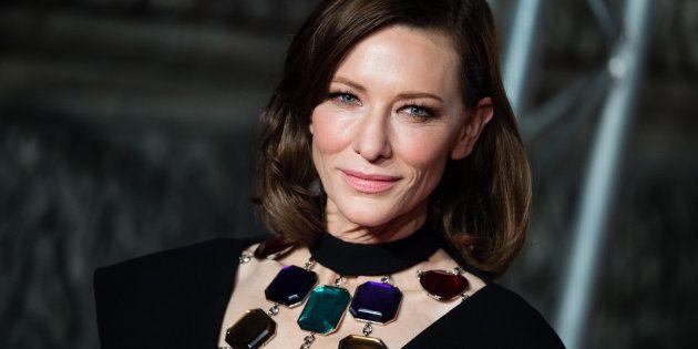 L'actrice Cate Blanchett sur le tapis rouge des Bafta 2019 ce dimanche 10