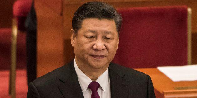 Xi Jinping à Pékin le 15 mars