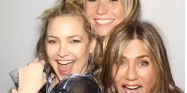 Jennifer Aniston célébrait ses 50 ans avec ses amies Kate Hudson et Gwyneth