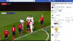 Après un bug de RMC Sport, la page Facebook du PSG diffuse le