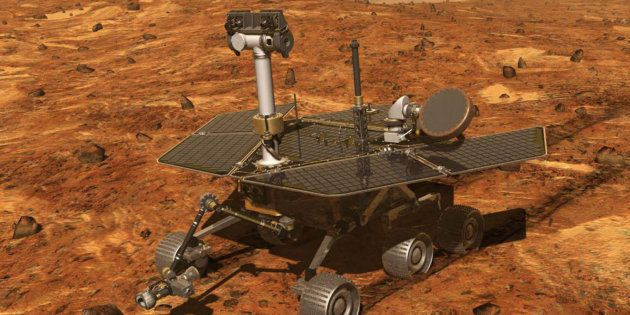 La Nasa se prépare à dire adieu à son rover martien