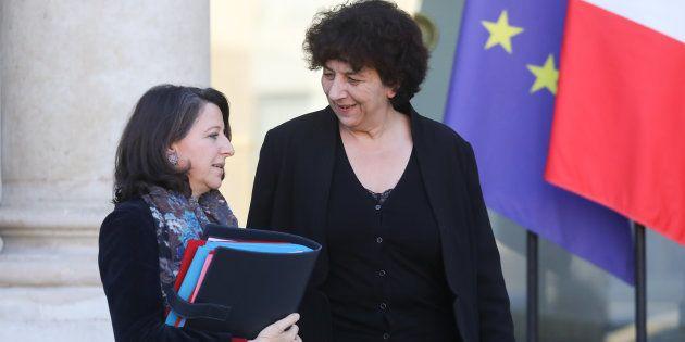 Agnès Buzyn et Frédérique Vidal, ici à la sortie d'un conseil des ministres en décembre 2018, réfléchissent...