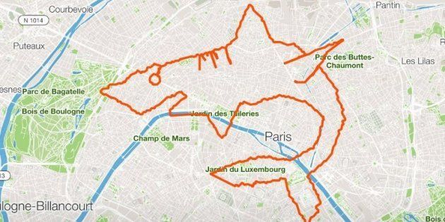 La triathlète Marine Leleu avait réalisé un requin en parcourant les rues de Paris en octobre