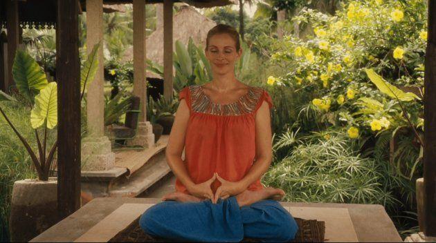 """Julia Roberts dans le film """"Mange, prie, aime"""""""