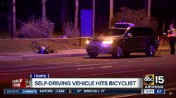 Une voiture autonome d'Uber a percuté et tué un