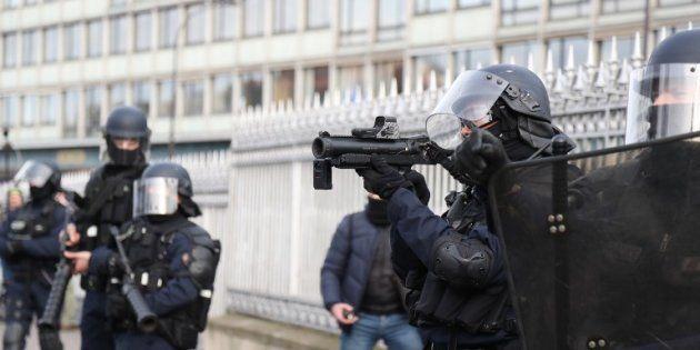Cette résolution du Parlement européen sur les violences policières va déplaire à Castaner (photo d'illustration...