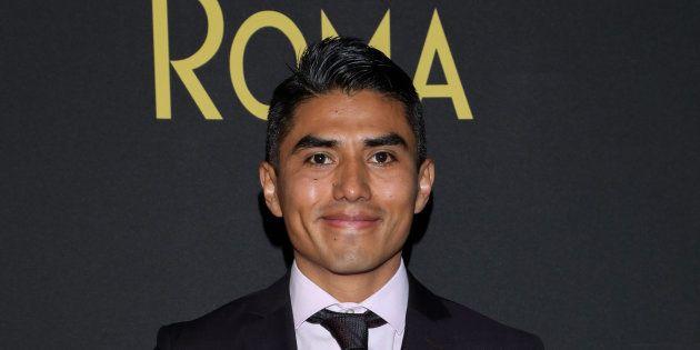 Jorge Antonio Guerrero s'est réjoui de pouvoir assister à la cérémonie, après des semaines d'incertitude...