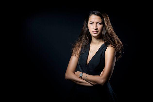 La journaliste Franco-marocaine Zineb el Rhazoui, ancienne journaliste de Charlie