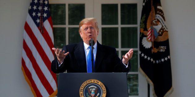Donald Trump annonce