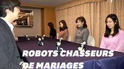 Au Japon, des robots ont aidé des participants