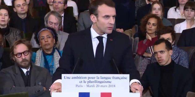 Macron veut de doubler le nombre d'élèves dans les lycées Français à
