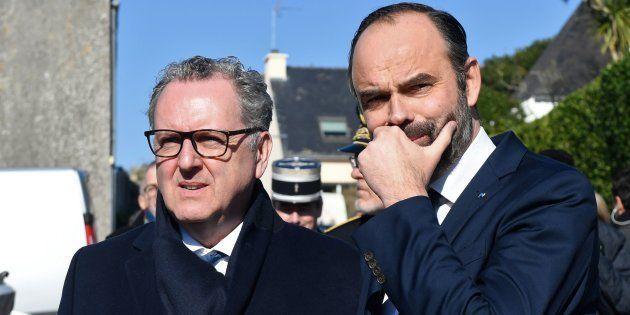 Gilets jaunes: la majorité à l'épreuve de la droitisation du gouvernement (ici Édouard Philippe et Richard...