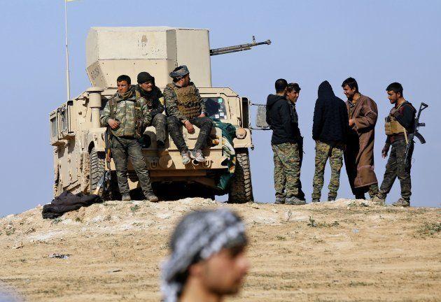 En Syrie, Daech