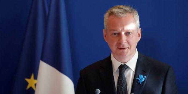 Bruno Le Maire à Paris le 26 février