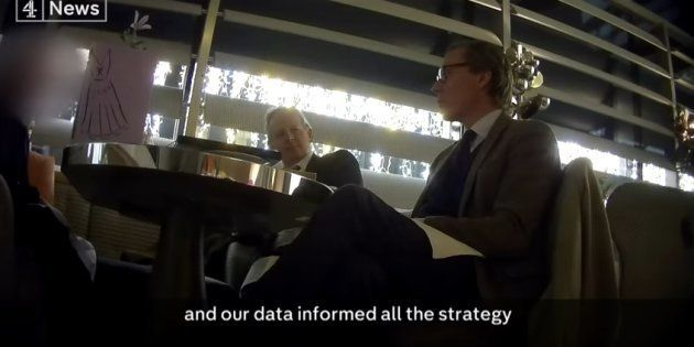 Les patrons de Cambridge Analytica se félicitent d'avoir