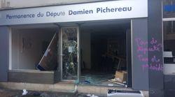 Au Mans, la permanence d'un député LREM détruite pendant l'acte XIV des gilets