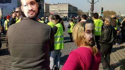 À Bordeaux, Alexandre Benalla était avec les gilets jaunes (ou