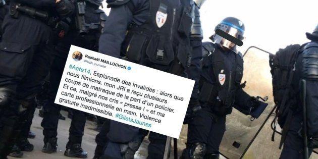 Le journaliste de BFMTV Raphaël Maillochon a dénoncé sur Twitter