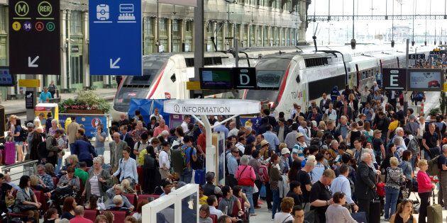 Grève à la Gare de Lyon en juin