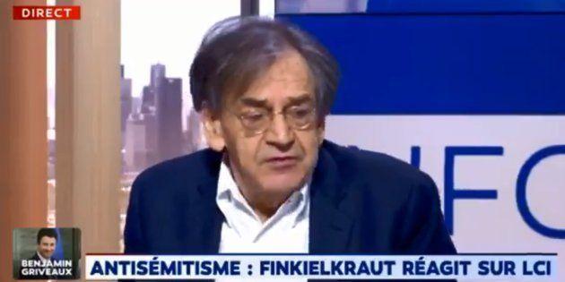 Alain Finkielkraut ne portera pas