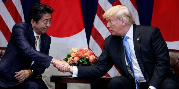 Donald Trump s'est vanté d'avoir été nommé pour le prix Nobel de la Paix par le Premier ministre japonais...