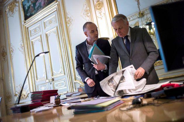 Jerome Batout avec Jean-Marc Ayrault en