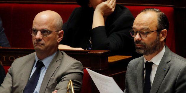Le ministre de l'Education Jean-Michel Blanquer s'est rallié à l'idée de ne pas supprimer les
