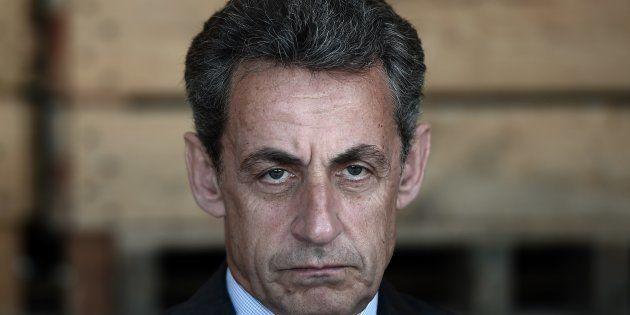 Nicolas Sarkozy à Kriegsheim (Bas-Rhin) le 9 juillet