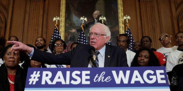 Le sénateur américain Bernie Sanders a officialisé ce mardi 19 février sa candidature à la présidentielle...